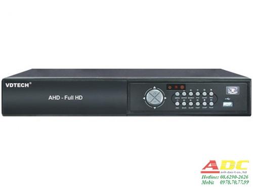 Đầu ghi hình camera IP và AHD 8 kênh VDTECH VDT-3600AHD/1080N.2